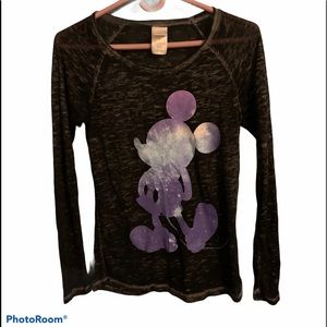 Disney Mickey Mouse: Galaxy, sheer, material
